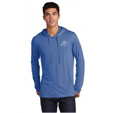 Sport Tek Men's tri blend wicking long sleeve hoodie (ST406-ARC-OD)
